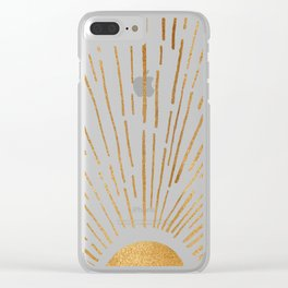 Let The Sunshine In Clear iPhone Case
