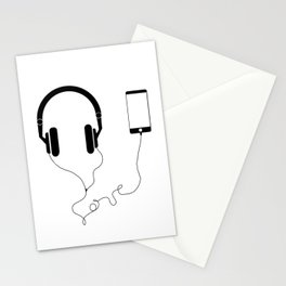 Music and love Stationery Cards