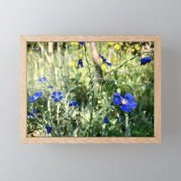 Flax Framed Mini Art Print