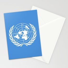 United Nations Flag Stationery Cards
