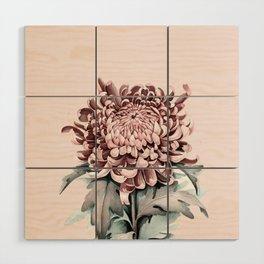 Flowers near me 5 Wood Wall Art