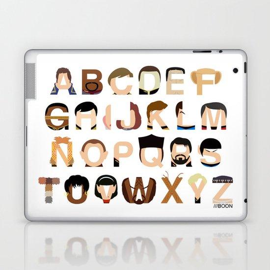 Star Trek Alphabet Laptop & iPad Skin