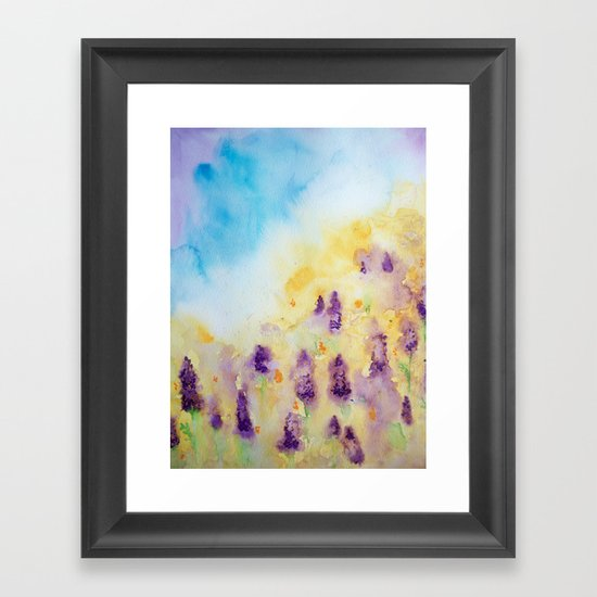Mom's Framed Art Print