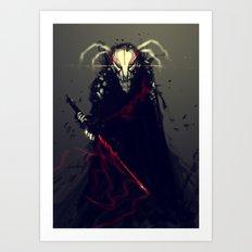 Bleach Mask FanArt Art Print