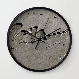 Sand & Stones Wall Clock