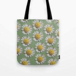pastel daisy mania Tote Bag