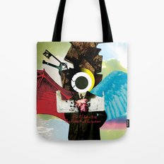 The Pursuit of Salvation Tote Bag