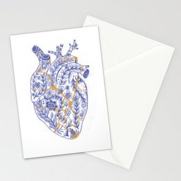 Kintsugi broken heart Stationery Cards