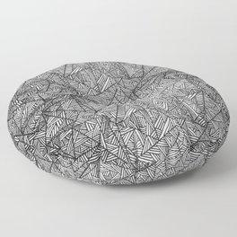 Pattern psychedelia Floor Pillow