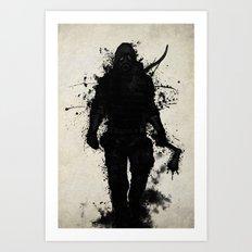 Apocalypse Hunter Art Print