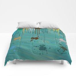 Messy Painter Comforters