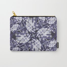 white dill purple field Carry-All Pouch