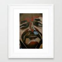 bill murray Framed Art Prints featuring bill murray by Jonny Moochie