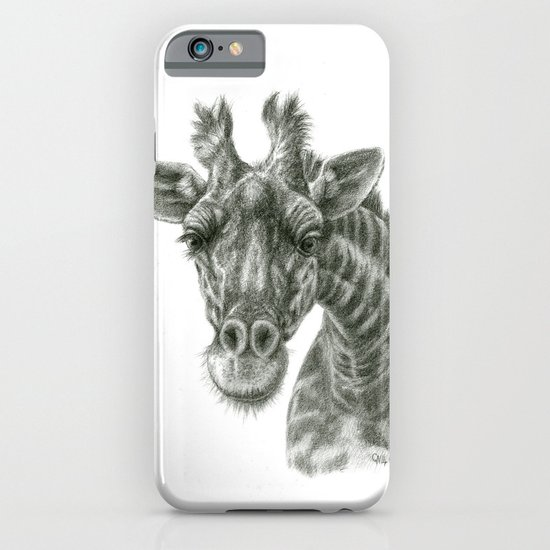 The giraffe G2012-049 iPhone & iPod Case