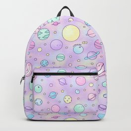 Pastel Planets Doodle Backpack