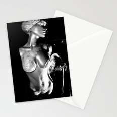 Goddess water fountain Stationery Cards