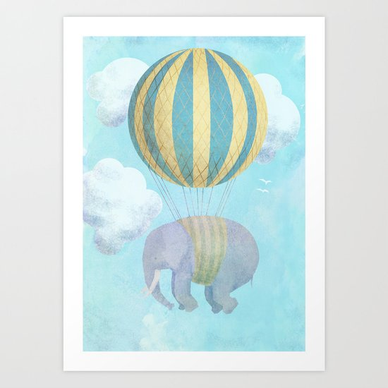 Escape From the Circus Art Print