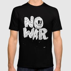 No War Black X-LARGE Mens Fitted Tee