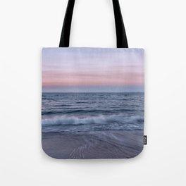Pastel beach sunset Tote Bag