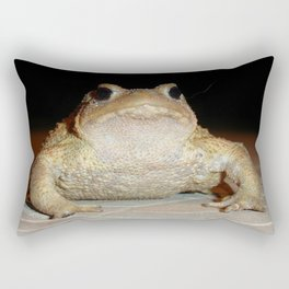 Common European Toad Rectangular Pillow