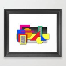 New Age Composition 2 Framed Art Print