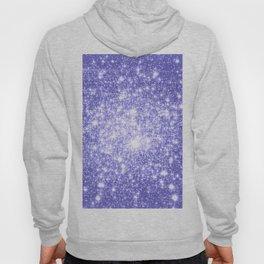 Lavender Periwinkle Sparkle Stars Hoody