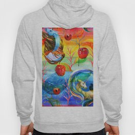 Abstract unicorns mistic design Hoody