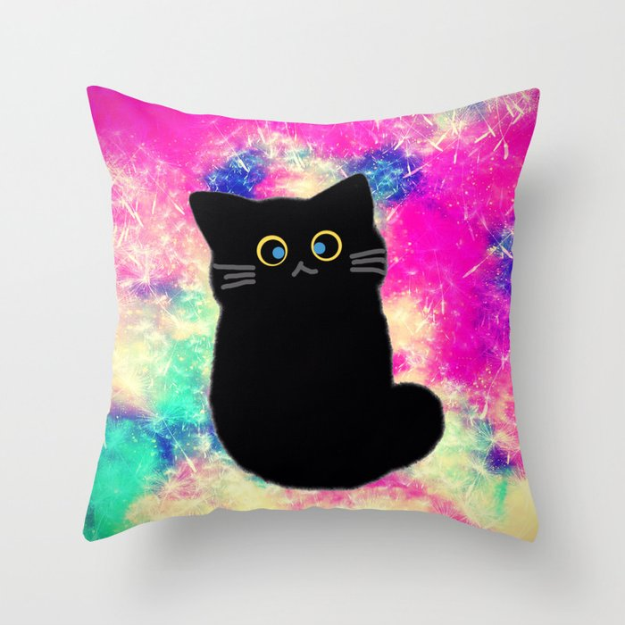 cat 606 Throw Pillow