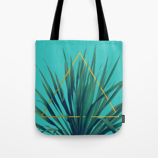 Geometric Fountain Tote Bag