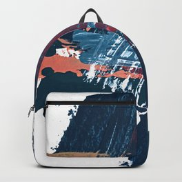 Pacific Northwest: a pretty minimal abstract piece by Alyssa Hamilton Art Backpack