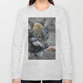 Friendly Wolf Long Sleeve T-shirt