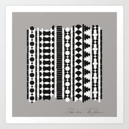 Étude Islamique - Square Art Print