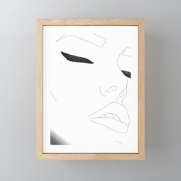 Female Framed Mini Art Print