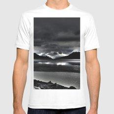 Turnagain Arm (Alaska) Mens Fitted Tee White MEDIUM