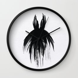 Little Black Gown Wall Clock