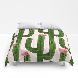Happy Cacti #society6 #decor #buyart Comforters