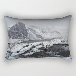 mount tryfan snowdonia Rectangular Pillow