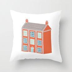 Little Big House Throw Pillow