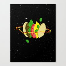 Planetary Discovery 8932: Cheeseburger Canvas Print