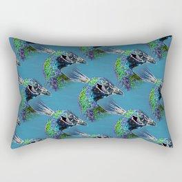 Peacocks Rectangular Pillow