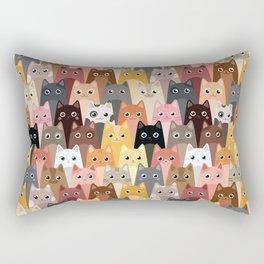 Cats Pattern Rectangular Pillow