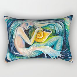 Sweet Dreams (Little Mermaid) Rectangular Pillow