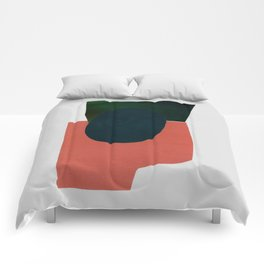 minimalist collage 05 Comforters