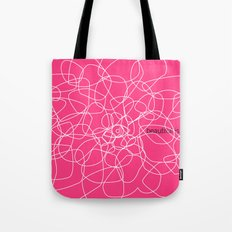 see beauty Tote Bag