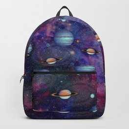 SPACE-the final frontier Backpack