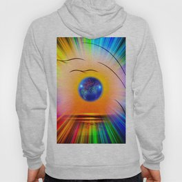 Abstract in perfection - Fertile Imagination Rose Hoody