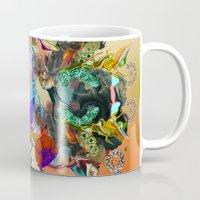 archan nair Mugs featuring Endless Rhythms by Archan Nair