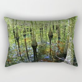 Present Judgment Rectangular Pillow
