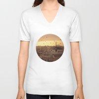 casablanca V-neck T-shirts featuring Casablanca by GF Fine Art Photography