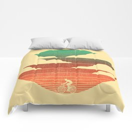 Go West (cycling edition) Comforters